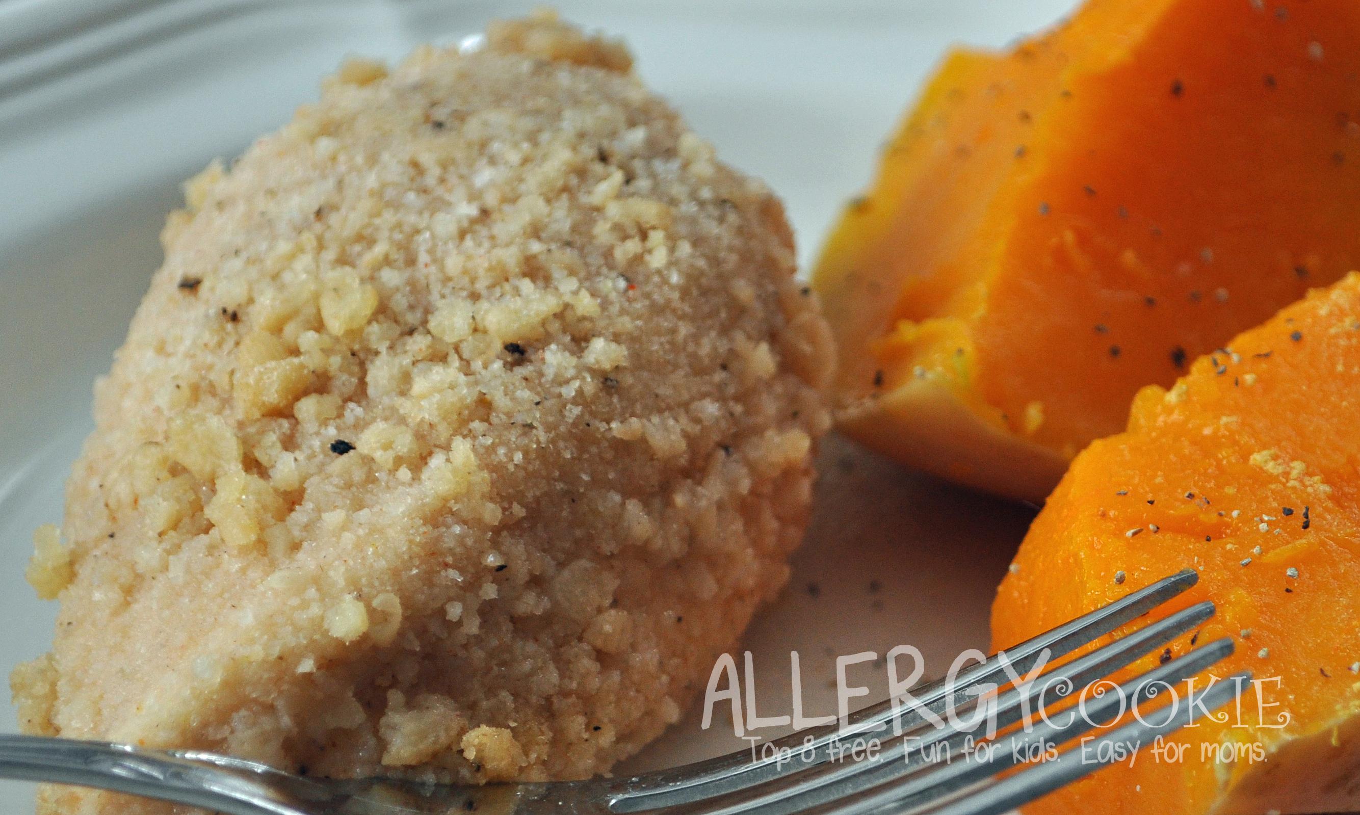 Faux Fried Chicken (top 8 free, gluten free)