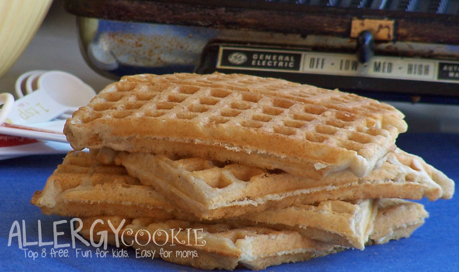 Best Ever Gluten Free Waffles