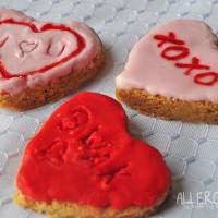 No Bake Cinnamon Conversation Heart Cookies