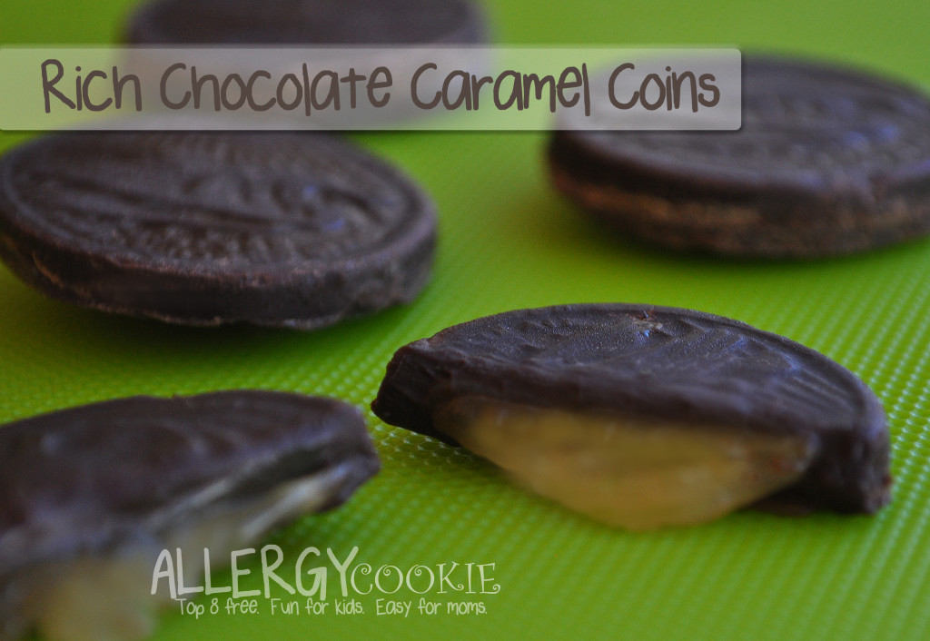 Chocolate Caramel Coins