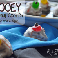Gooey Eyeball Cookies