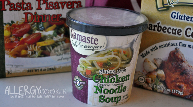 Namaste Chicken Noodle Soup Review and Giveaway