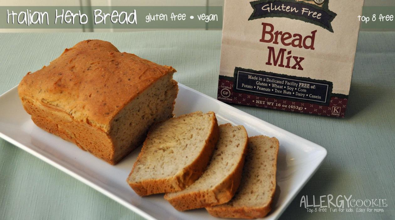 Italian Herb Bread (gluten free, vegan, top 8 free)