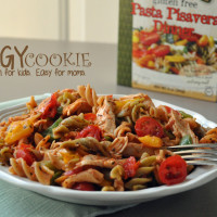Easy Namaste Pasta Pisavera and #giveaway (gluten free, top 8 free)