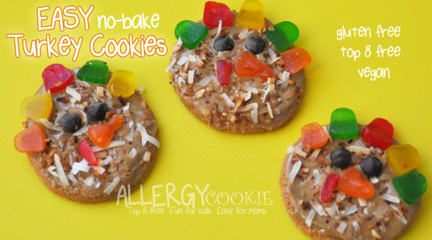 Easy Turkey No Bake Cookies