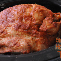 Slow Cooked Honey BBQ Turkey