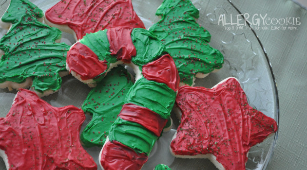 Allergy Friendly Soft Sugar Cookies