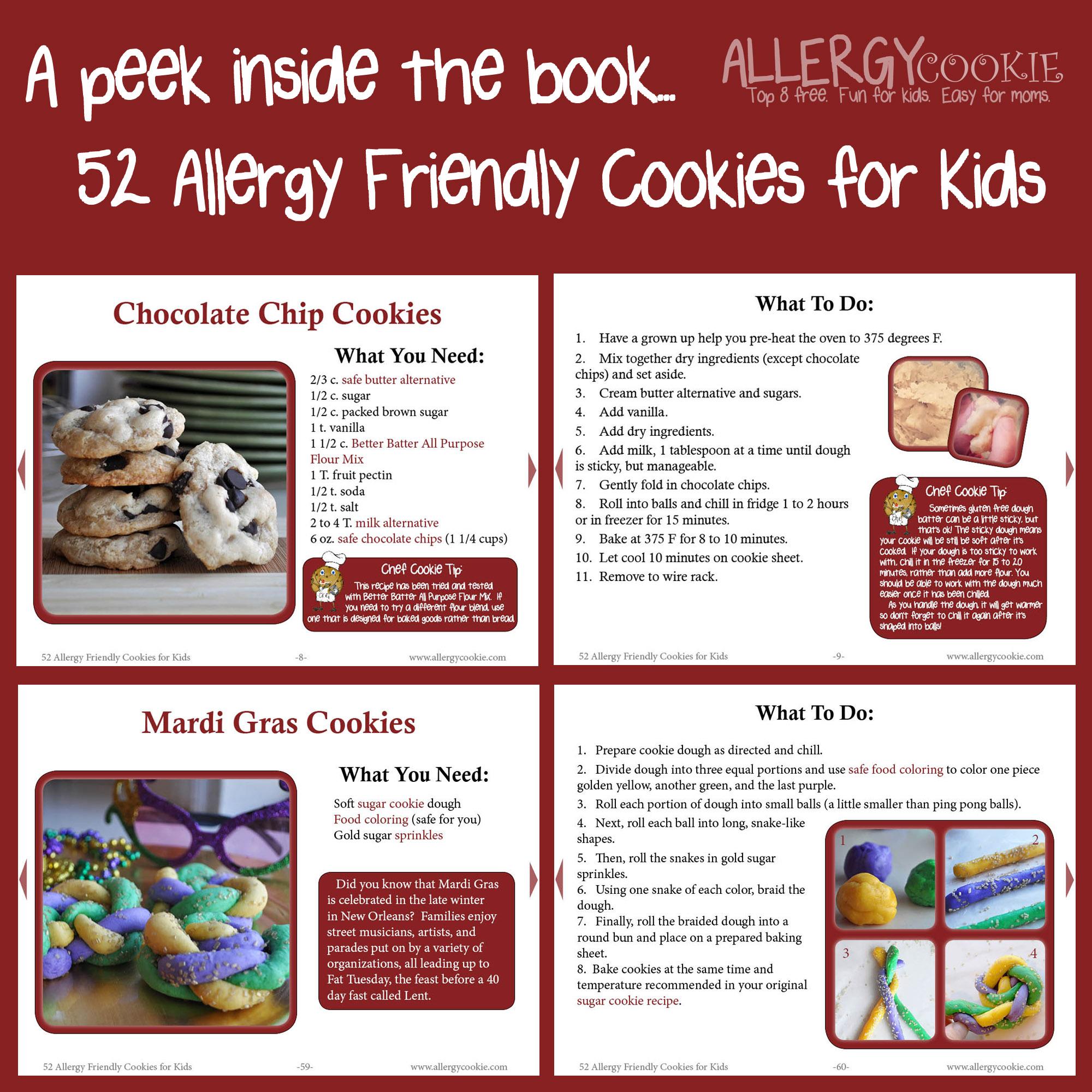 Allergy cookie ebook 52 allergy friendly cookies for kids ebook 52 allergy friendly cookies for kids fandeluxe PDF