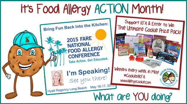 Food Allergy Action: All over the web this month plus your local community!