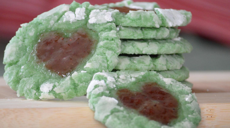 Growing Heart Grinch Cookies Top8free Gluten Free Vegan